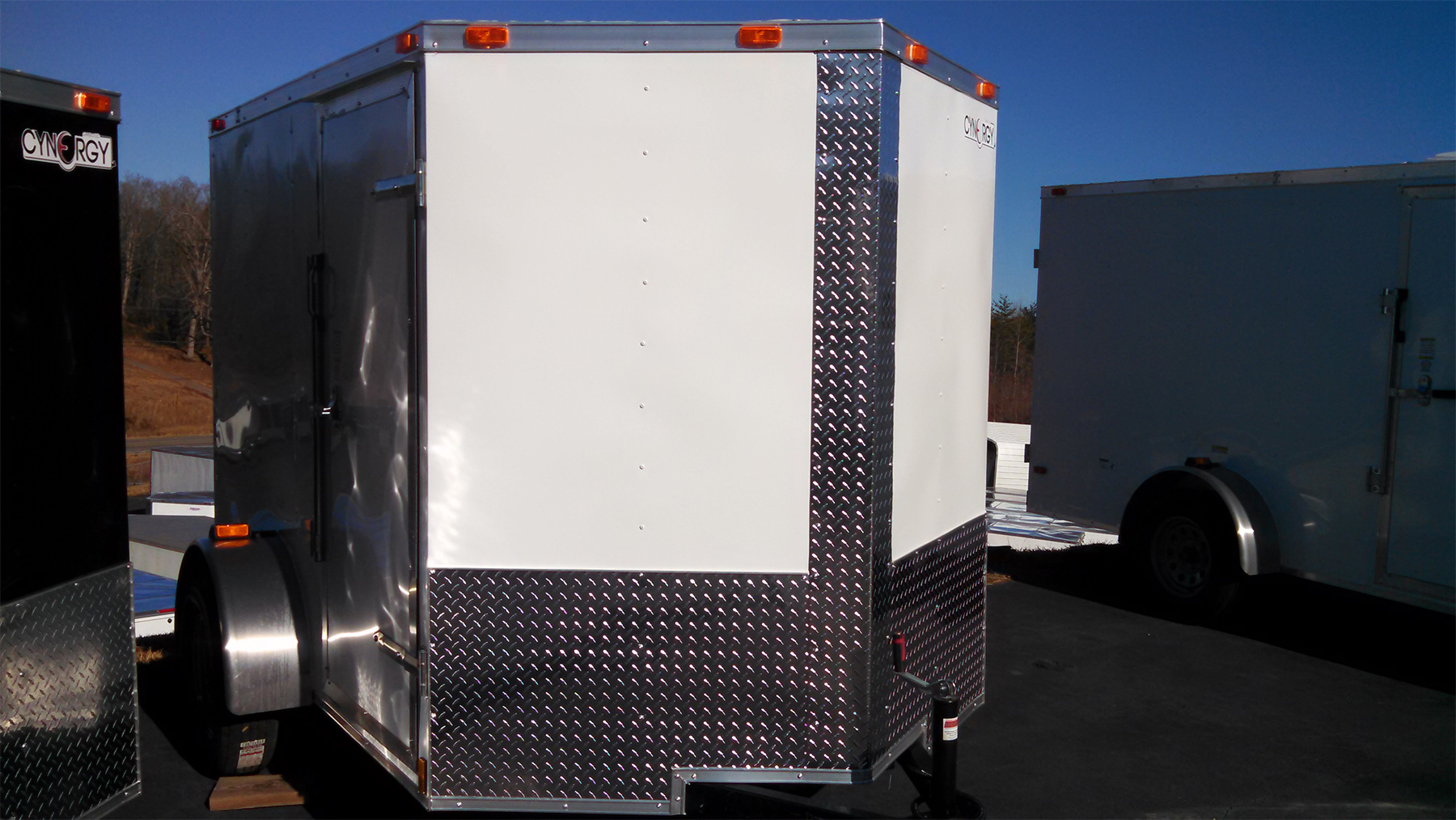 Cynergy Cargo Trailers Us Trailer Wiring Diagram 6 X 8 V Nose With Ramp Door